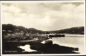 Ak Gamleby Schweden, Hamn, Hafen