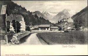 Ak Sand Taufers im Tauferer Ahrntal, Tubre Südtirol, Ortschaft