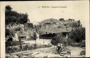 Ak Meknès Marokko, Briqueterie Francaise