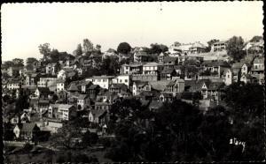Ak Antananarivo Tananarive Madagaskar, Les villas sur la coline de Faravohitra