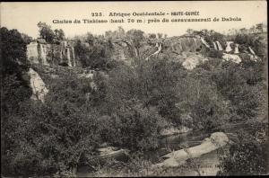 Ak Chutes du Tinkisso pres du caravanserail de Dabola