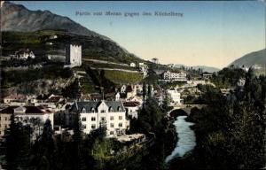 Ak Meran Merano Südtirol, Partie gegen den Küchelberg