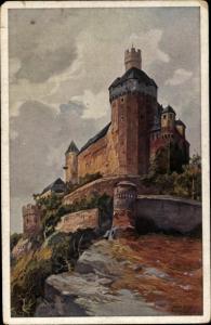 Künstler Ak Schulze, H. R., Braunau am Inn in Oberösterreich, Marksburg