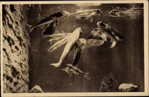 Ak Aquarium du Musée Oceanographique de Monaco, Fliegende Fische, Dactylopterus