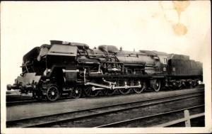 Ak Französische Eisenbahn, Locomotive 241 P, Tender 34 P, Dampflok