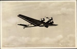 Ak Schwedisches Flugzeug, Vikingaland