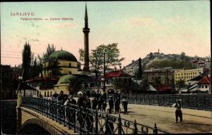 Ak Sarajevo Bosnien Herzegowina, Kaisermoschee, Careva dzamija