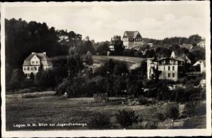 Ak Łagów Powiat Świebodziński Lagow Neumark Ostbrandenburg, Jugendherberge