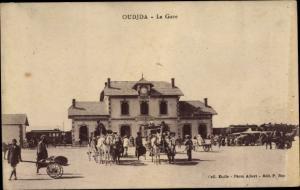 Ak Oudjda Oujda Marokko, La Gare
