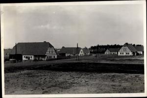 Ak Ostaszow Hierlshagen bei Przemków Primkenau Schlesien, Neubauerndorf