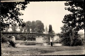 Ak Cergy Val d´Oise, Le Pont