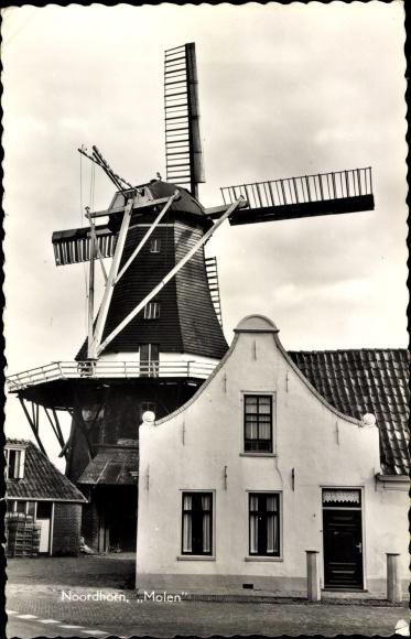 Bild zu Ak Noordhorn Gron...