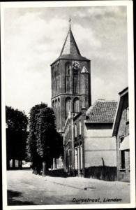 Ak Lienden Buren Gelderland, Dorpstraat