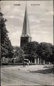 Ak Vorden Gelderland Niederlande, In het Dorp met Kerk