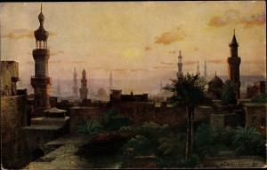 Künstler Ak Wuttke, Carl, Cairo Kairo Ägypten, Early Morning, Tuck 3419