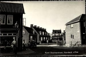 Ak Noordwijk aan Zee Südholland, Karel Doormanstraat