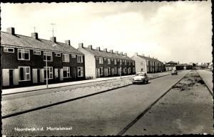 Ak Noordwijk aan Zee Südholland, v.d. Mortelstraat