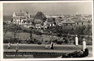 Ak Noordwijk aan Zee Südholland, Panorama
