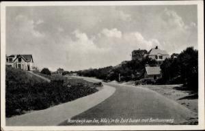 Ak Noordwijk aan Zee Südholland, Villas in de Zuid Duinen met Beethovenweg