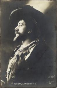 Ak Schauspieler Albert Lambert, Portrait