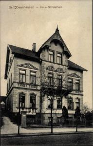 Ak Bad Oeynhausen in Westfalen, Haus Stolzenhain