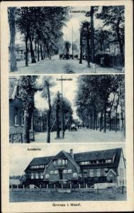 Ak Gronau in Westfalen, Lossestraße, Annaheim