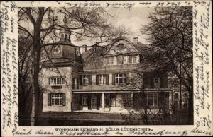 Ak Lüdenscheid im Märkischen Kreis, Wohnhaus Richard H. Nölle