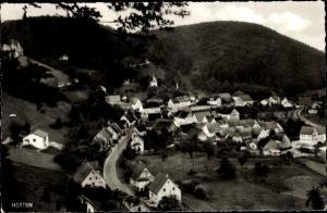 Ak Hütten Schelklingen in der Schwäbischen Alb, Totalansicht vom Ort