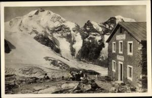 Ak Pontresina Kanton Graubünden Schweiz, Diavolezza Hütte, Morteratsch Gletscher, Piz Bernina