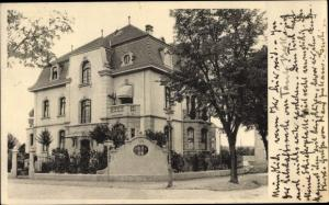Ak Klusmatt Luzern, unbekanntes Gebäude