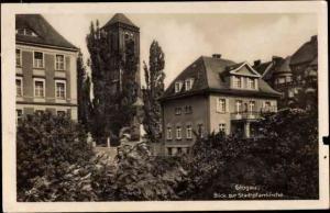 Ak Głogów Glogau Schlesien, Stadtpfarrkirche