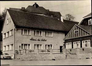 Ak Altenfeld Großbreitenbach in Thüringen, Konsumgaststätte Haus des Volkes