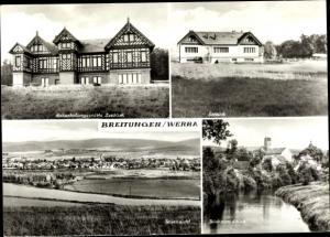 Ak Breitungen an der Werra, Naherholungsgaststätte Seeblick, Schloss