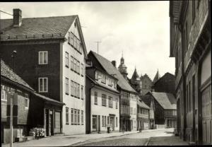 Ak Schleusingen in Thüringen, Bahnhofstraße