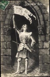 Künstler Ak Boucher, G., Jeanne d'Arc