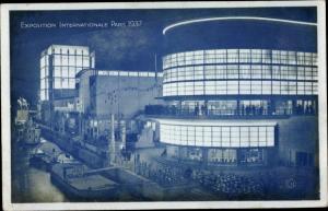 Ak Paris, Exposition Internationale 1937, Les Pavillons de la Belgique de la Suisse et de l'Italie