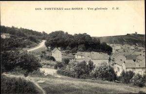Ak Fontenay aux Roses Hauts de Seine, Vue Générale
