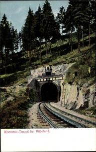 Ak Rübeland Oberharz am Brocken, Bismarck Tunnel