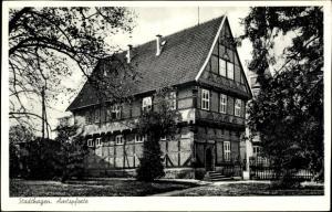 Ak Stadthagen in Niedersachsen, Amtspforte
