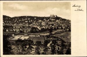 Ak Marburg an der Lahn, Gesamtansicht