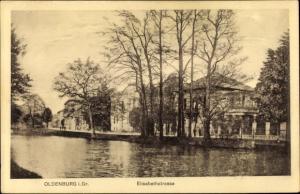 Ak Oldenburg in Niedersachsen, Elisabethstraße