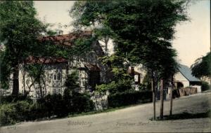 Ak Bückeburg in Niedersachsen, Forsthaus Harrl