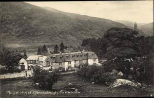 Postcard Glendalough, County Wicklow, Royal Hotel