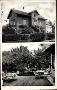 Ak Oberkassel Bonn in Nordrhein Westfalen, Privatpension Reiter, Hauptstraße 277, Gartenterrasse