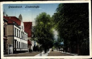 Ak Grevenbroich im Rhein Kreis Neuss, Lindenstraße
