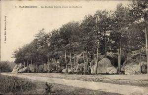 Ak Malesherbes Loiret, Les Roches vers la route de Buthiers
