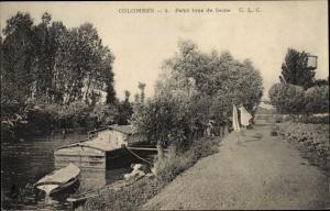 Ak Colombes Hauts de Seine, Petit Bras de la Seine