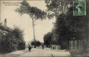 Ak Aulnay sous Bois Seine Saint Denis, Le Gros Peuple