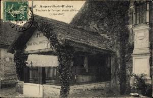 Ak Augerville-la-Rivière Loiret, Tombeau de Berryer