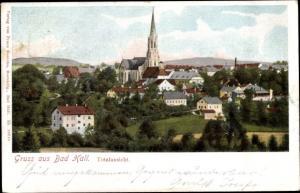 Ak Bad Hall Oberösterreich, Totalansicht